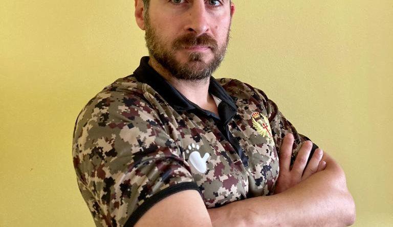 Alejandro Pedraza, jugador del Real Oviedo Rugby, convocado para formar parte del equipo nacional del Ejército de Tierra