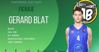 Gerard Blat primer fichaje del Albacete Basket