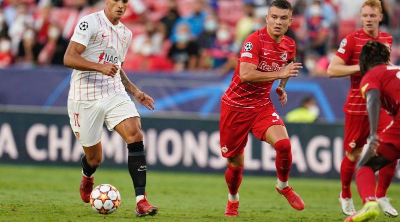 Los números del debut del Sevilla en Champions